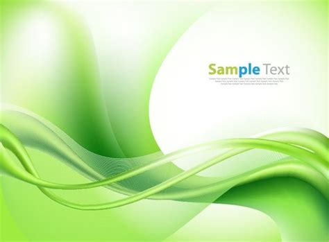 green wallpaper vector free download bright green vector waves abstract background illustration