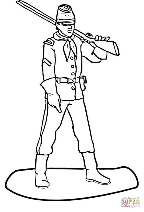 soilder free colouring pages