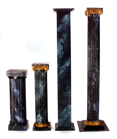 Halloween Decor Home by Green Marble Columns The Prop Shop