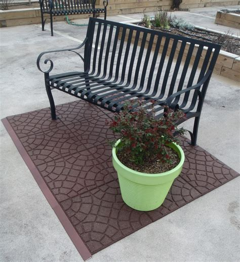 home depot patio tiles rubber floor tiles home depot home design ideas