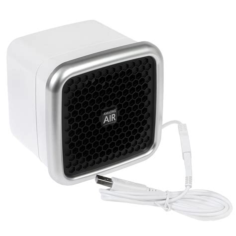 amazing mini air purifier compact portable usb air cleaner filter circulator fan ebay