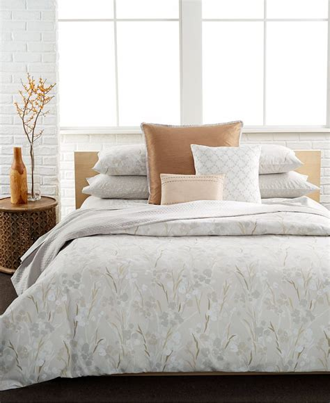 Calvin Klein Blanca King Comforter Set Comforters Bed Calvin Klein Bedding Sets