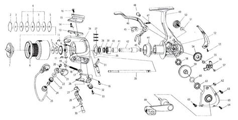 quantum reel parts diagram welcome to tackleservice hpl20 hypercast 3bb 2 size
