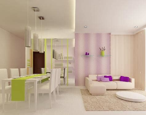 sala comedor lila verde  blanco salas  comedores