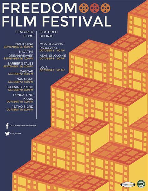 freedom film festival malaysia catch cinemalaya x films in dlsu