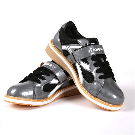 work out shoes for flat professional weightlifting shoe squat leather