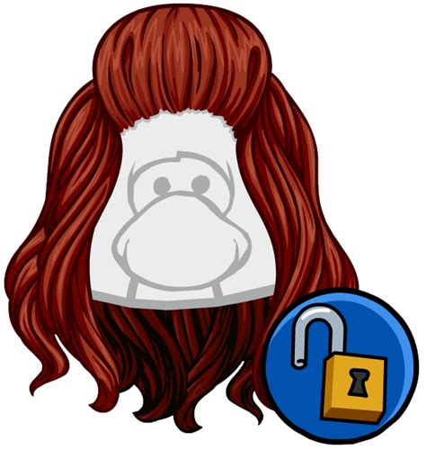 club penguin what is the name of hair bun the rose weave club penguin wiki fandom powered by wikia
