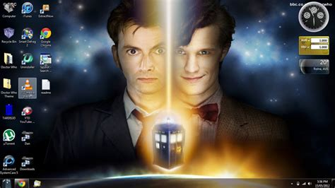 doctor who theme doctor who desktop theme by aries927 on deviantart