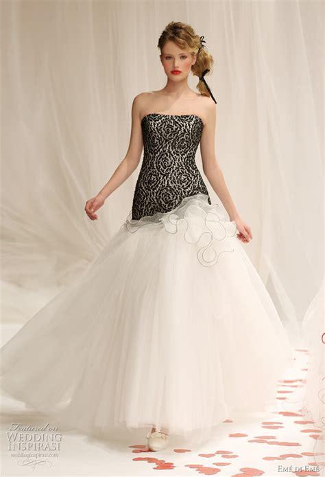 design dress black and white black and white wedding dress decoration designs wedding