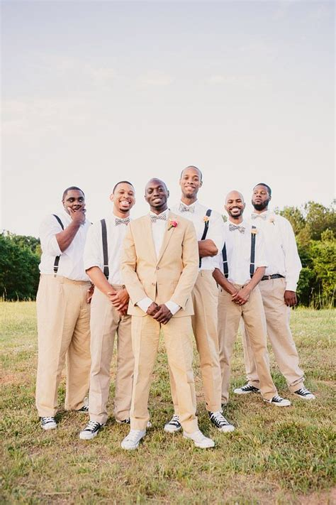 25  best ideas about Khaki Suit Groom on Pinterest