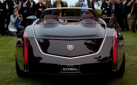 Cadillac Ciel Concept Cadillac Ciel Concept Unveiled At Pebble Concours