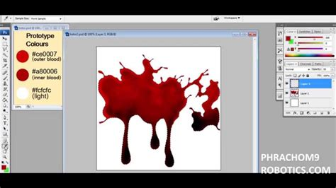 tutorial photoshop it blood photoshop tutorial youtube