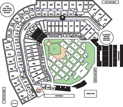 pittsburgh seating chart seating chart pnc park discount theatre tickets discount