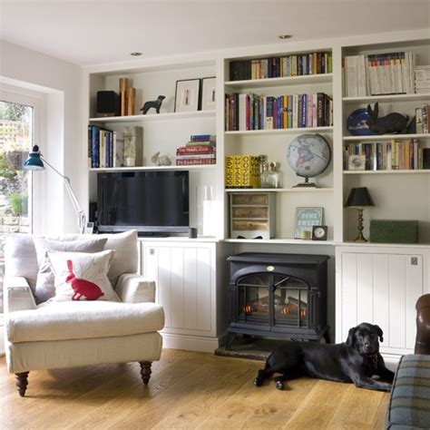 Living Room Shelving Ideas County Living Room Storage Living Room Storage