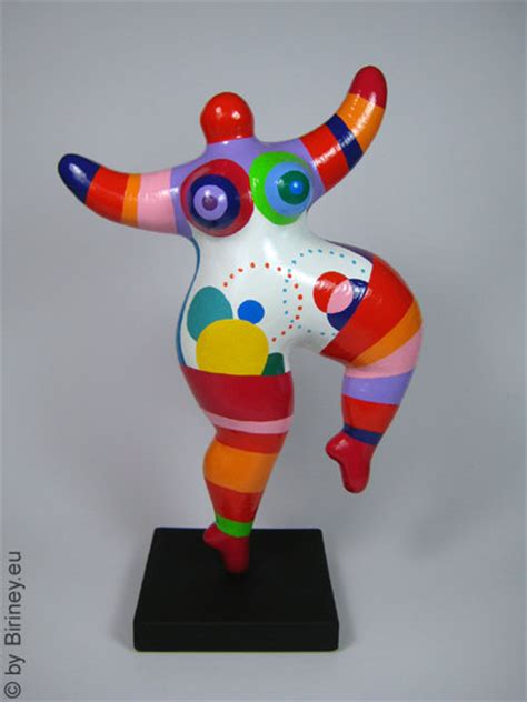 Niki De Phalle Nanas Basteln 4196 by Colourfully Painted Nana Sculpture Freely Based On The