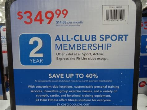 24 Hour Fitness Gift Card - 24 hour fitness membership