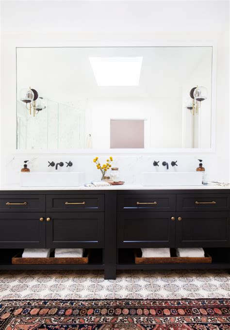 New Bathroom In California A New Family S Bohemian Eclectic California Home Glitter