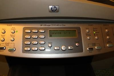Printer Hp Officejet 7210 All In One hp officejet 7210 all in one printer fax scanner copier