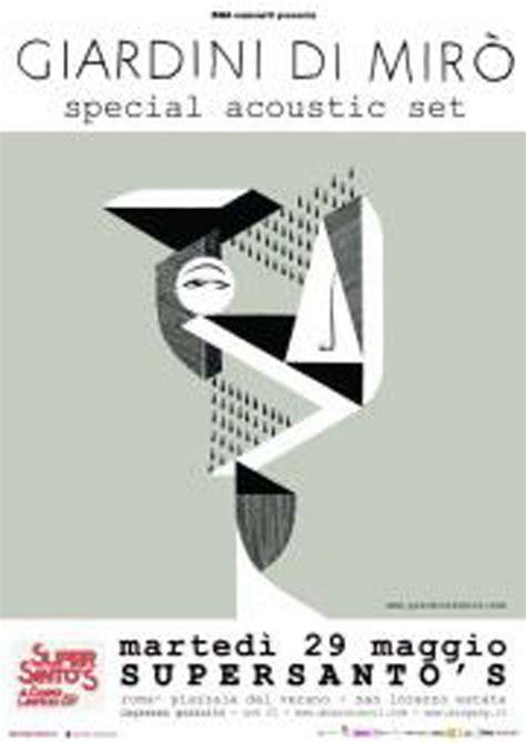 giardini di miro special acoustic set marted 236 29 maggio