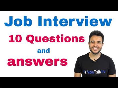 preguntas entrevista de trabajo en ingles por telefono entrevista de trabajo curiosa pelicula intocable funnydog tv