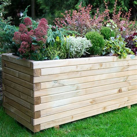 What Is Planters by Lomello Wooden Garden Planter From Mr Fothergill S Seeds