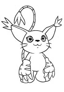 coloring page digimon coloring pages 42
