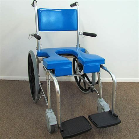 Shower Wheelchairs by Shower Chairs With Wheels Healthline Pvc Shower Bathroom White Shower Chair Walmart
