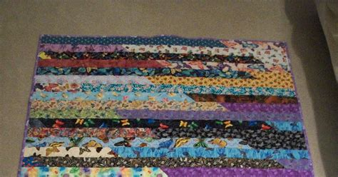 Jellyroll Race Quilt by Debbie S Jelly Roll Race Quilt Finished