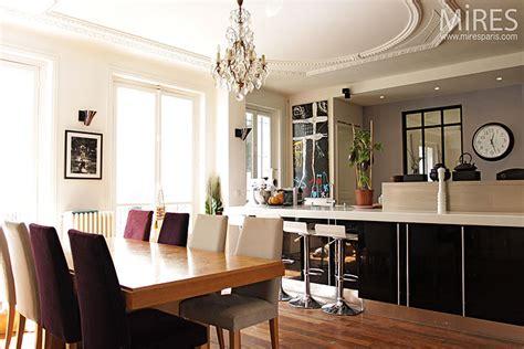 駘ement de cuisine cuisine moderne dans l ancien deco maison ancienne r nov