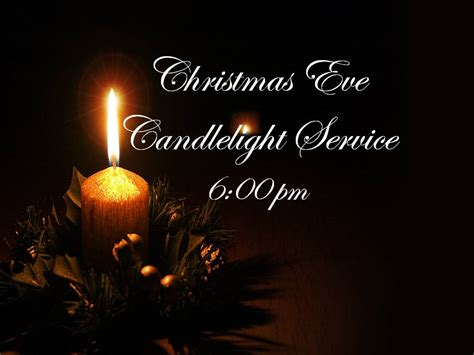 Candlelight Service Bulletin Related Keywords Candle Light Service