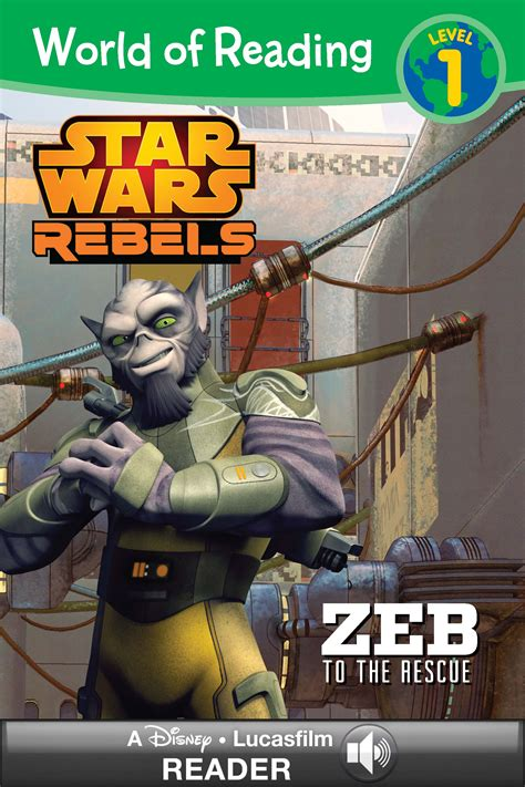 star wars the rescue world of reading star wars rebels zeb to the rescue disney books disney publishing worldwide