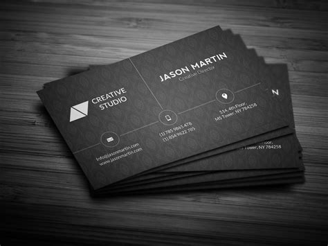 Business Card With Photo Template