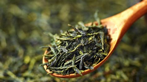 Brewing Green Tea Leaves - world s oldest tea discovered in an ancient