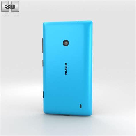 Nokia Lumia Cyan 520 Nokia Lumia 520 Cyan 3d Model Humster3d