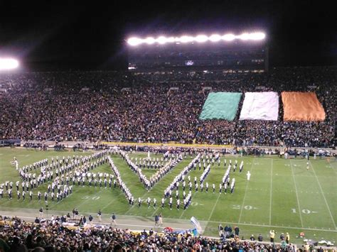 notre dame student section 162 best images about nd band on pinterest fighting