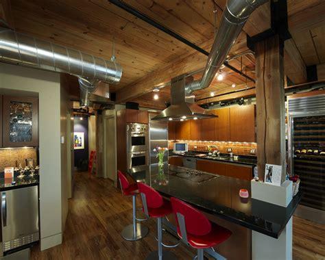 Kitchen Island Unfinished Franklin Loft Remodel Lodo Neighborhood Denver Co