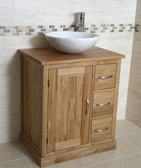 bathroom oak vanity units 50 off oak vanity unit with round marble sink bathroom