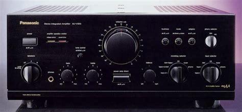 V Audio Panasonic by Technics Technics Su V900