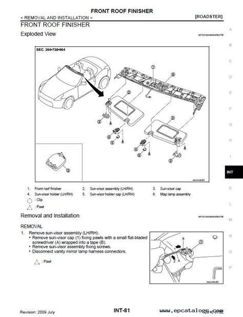 online service manuals 2009 mazda b series spare parts catalogs nissan 370z model z34 series 2009 2010 service manual pdf