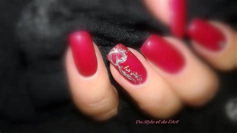 Modele Ongle En Gel Valentin by Du Style Et De L Mon Bar 224 Ongles Toulouse Rdv Au