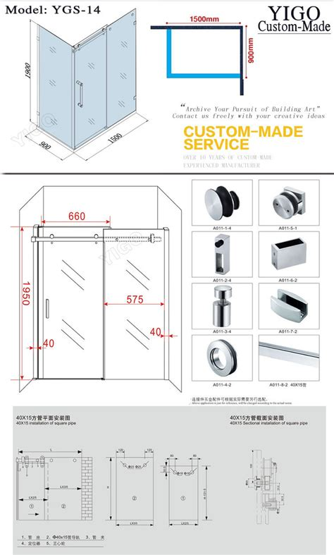Cer Shower by Cer Shower Door 28 Images Convenient Clear Glass