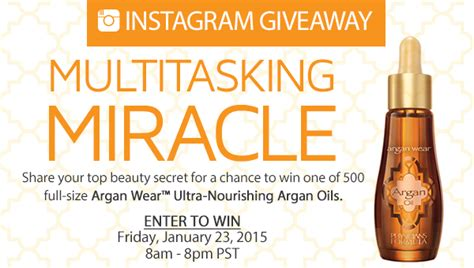 free product giveaway physicians formula ultra nourishing argan oil quot deal quot icious mom - Free Product Giveaways