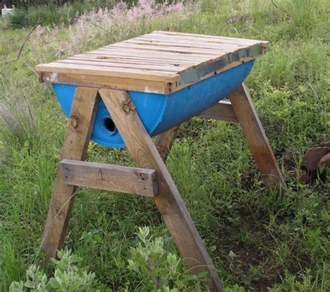 How To Build A Top Bar Bee Hive by How To Make Barrel Drum Top Bar Bee Hive Homestead