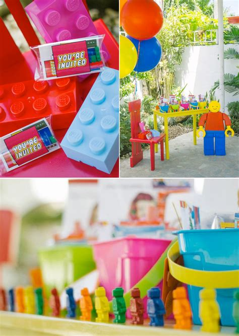 lego themed birthday supplies kara s party ideas lego themed birthday boy party