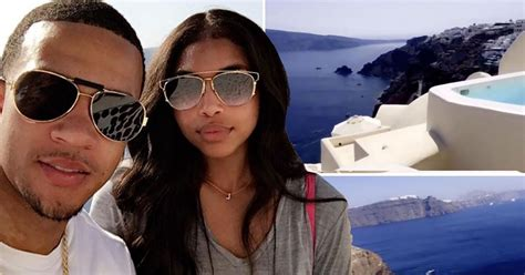 lori harvey nz manchester united s memphis depay enjoys baecation with