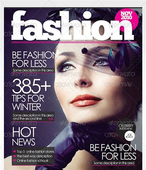 free magazine cover templates 17 best images about magazine cover templates on