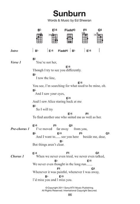 ed sheeran easy chords ukulele ukulele chords ed sheeran photograph ukulele