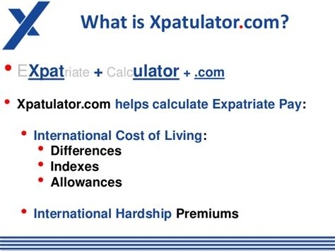 Calculator Salary Mba International Business by International Expatriate Cost Of Living Calculators
