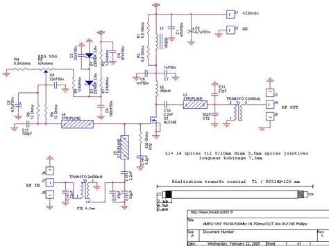 transistor linear lifier gt rf gt lifiers gt 30 watt fm linear lifier with mosfet blf245 l7431 next gr