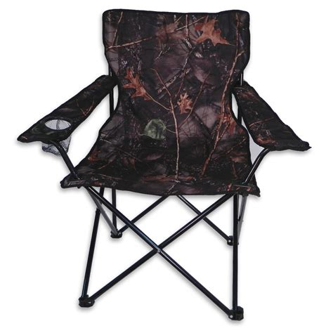 world camo folding chair with arm rest